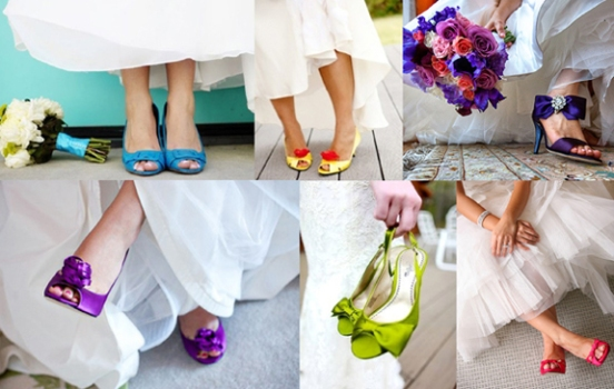 zapatos novia colores