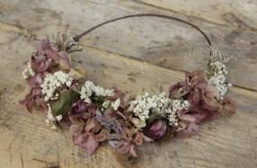 corona de flores -lacasadelanena